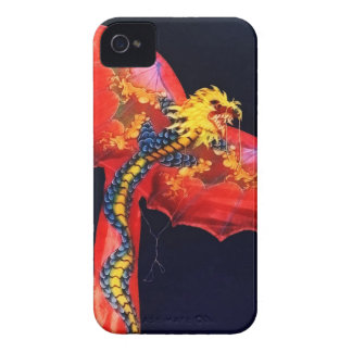 Red Dragon Kite iPhone 4 Case-Mate Cases