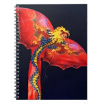 Red Dragon Kite Note Books