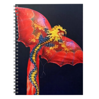 Red Dragon Kite Notebook