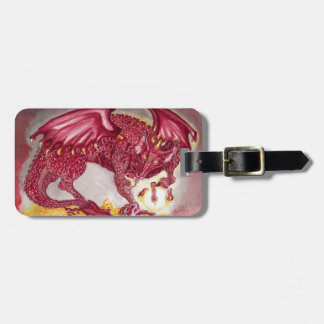 Red Dragon Luggage Tags