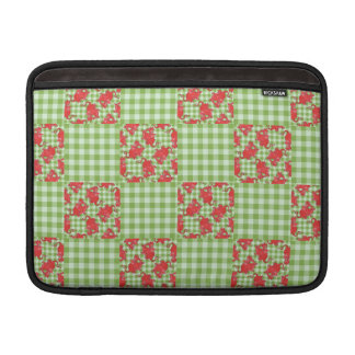 Red Dragon MacBook Air Sleeve: Faux-Patchwork Sleeve For MacBook Air
