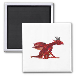 Red Dragon Magnet