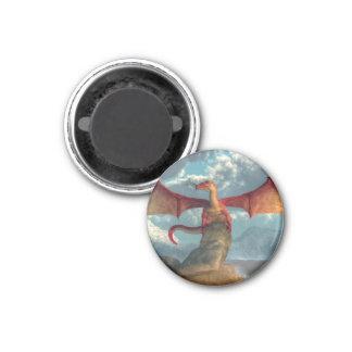 Red Dragon Fridge Magnet