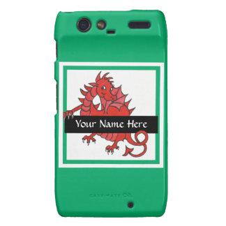 Red Dragon Motorola Droid RAZR Case to Personalize