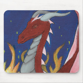 Red Dragon Mouse Pad