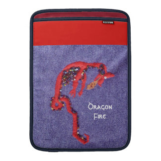 Red Dragon Myth Fantasy MacBook Air Sleeve