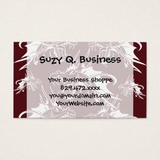 Red Dragon Mythical Creature Cool Fantasy Design Business Card