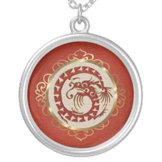 Red Dragon Necklace