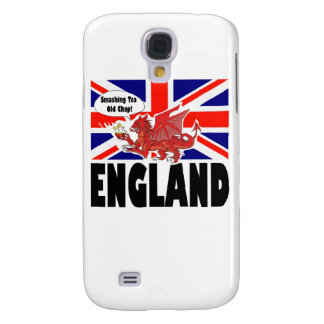 Red Dragon of England Galaxy S4 Case