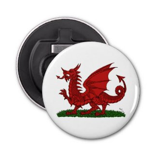 Red Dragon of Wales Bottle Opener