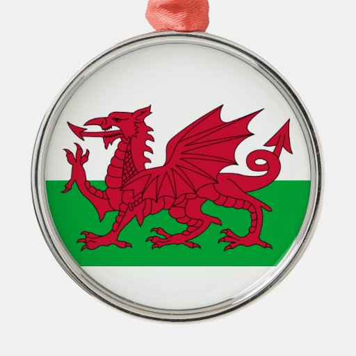 Red Dragon Of Wales Christmas Tree Ornament