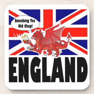 Red Dragon of Wales Drink Coaster