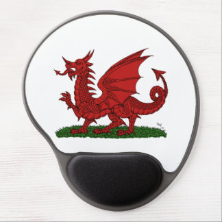 Red Dragon of Wales Gel Mouse Pad