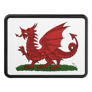 Red Dragon of Wales Hitch Cover