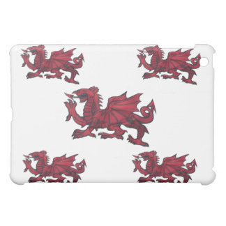 Red dragon of Wales. iPad Mini Cover