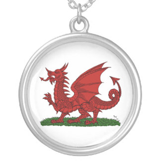 Red Dragon of Wales Necklace