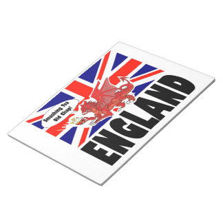 Red Dragon of Wales Notepad