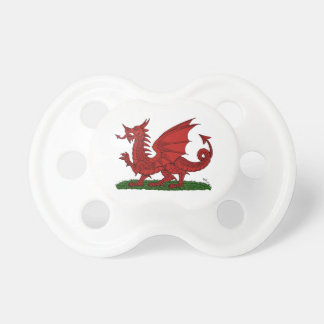 Red Dragon of Wales Pacifier