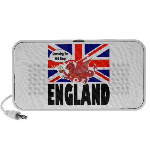 Red Dragon of Wales Travel Speaker