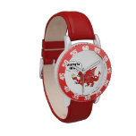 Red Dragon of Wales Wristwatch
