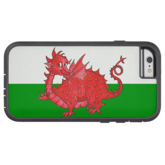 Red Dragon on Green and White iPhone 6 Xtreme Case Tough Xtreme iPhone 6 Case