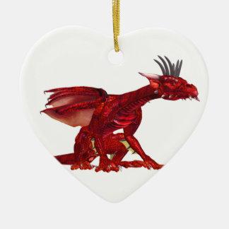 Red Dragon  Ornament
