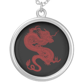 Red Dragon Pendragon Necklace