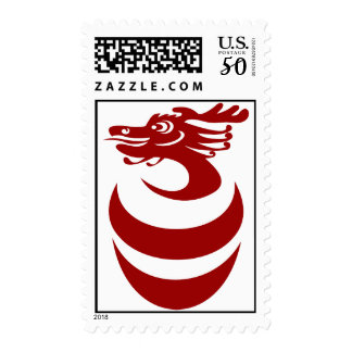 Red dragon Postage