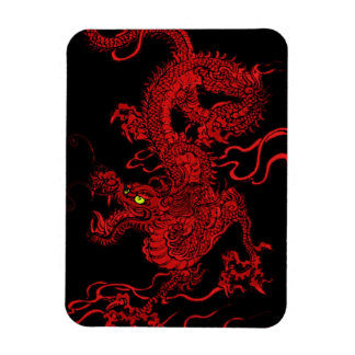 Red Dragon Flexible Magnet