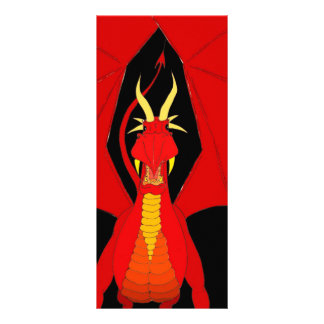 Red Dragon Rack Card