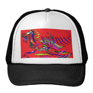 Red Dragon - Ribbon Series - Dragon Trucker Hat