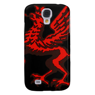 Red dragon samsung galaxy s4 cover
