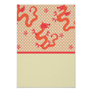 Red Dragon Scale Mesh Pattern Card