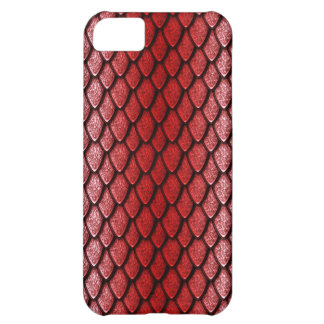 Red Dragon Scales Case For iPhone 5C