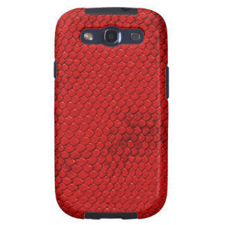 Red Dragon Scales Galaxy SIII Cover