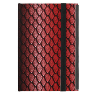 Red Dragon Scales Cover For iPad Mini