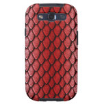 Red Dragon Scales Samsung Galaxy SIII Covers