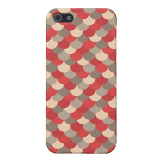 Red Dragon Scales Vector Art iPhone SE/5/5s Case