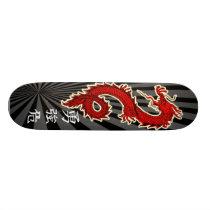 Red Dragon Skateboard