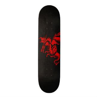 Red Dragon Skateboard Deck