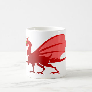 red dragon talk dragon coffee mug