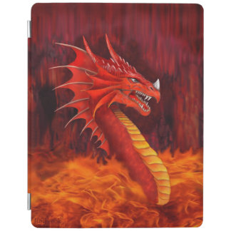 Red Dragon Terrifier iPad Smart Cover