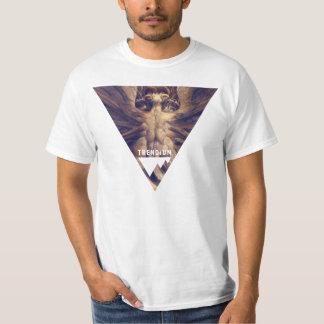 Red Dragon Triangle Trendium Authentic T-Shirt