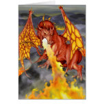 Red Dragon Valentine's Card
