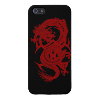 Red Dragon Xiuhcoatl iPhone 5 Case