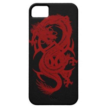 Red Dragon Xiuhcoatl iPhone 5G Case