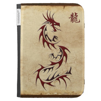RED DRAGON YEAR OF THE DRAGON Asian Cases For Kindle