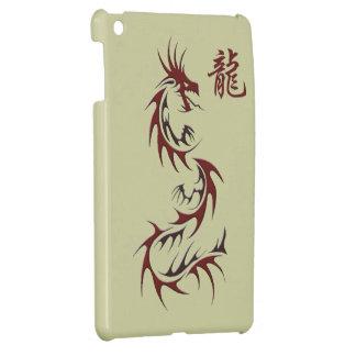 RED DRAGON YEAR OF THE DRAGON Asian iPad Mini iPad Mini Case