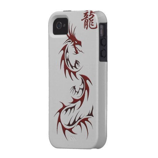 RED DRAGON YEAR OF THE DRAGON Asian  iPhone 4 Case