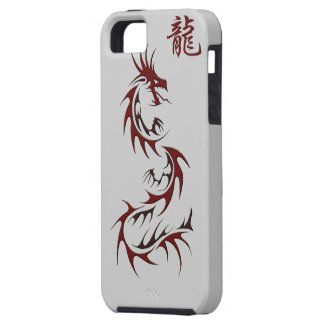 RED DRAGON YEAR OF THE DRAGON Asian  iPhone 5 Case